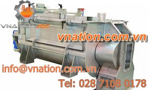 rotor-stator mixer / paddle / continuous / solid/liquid