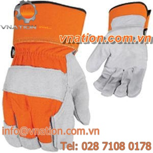 handling gloves / wear-resistant / anti-cut / high-visibility