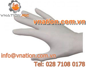laboratory gloves / chemical protection / latex / disposable