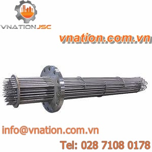 flange heater / immersion / electric / convection
