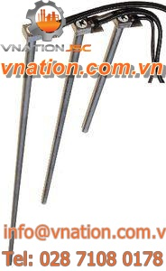 immersion heater / conduit / electric / conduction