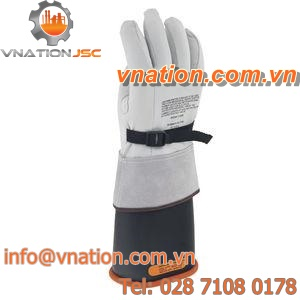 welding gloves / arc protection / leather