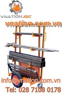 storage cart / handling / transport / 3 levels