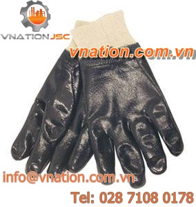 work gloves / mechanical protection / nitrile