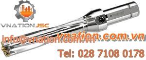 indexable insert drill bit / 4-corner