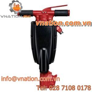 pneumatic breaker / hand-held / for construction
