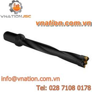 insert drill bit / carbide / deep hole