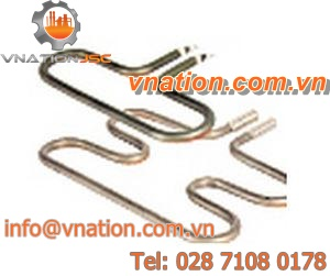 tubular heating element / in plastic