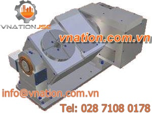 CNC tilting rotary table / for machining centers