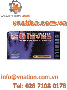 clean room gloves / chemical protection / nitrile / latex
