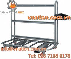 handling cart / storage / shelf / for frames