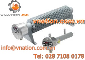 natural convection resistance heater / zinc-plated steel