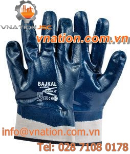 laboratory gloves / chemical protection / nitrile / waterproof