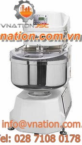 screw mixer / batch / for the food industry / single-shaft
