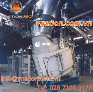 batch mixer / for sludge and lime / vacuum / dryer