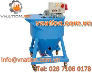 screw mixer / batch / mobile / clean-in-place (CIP)