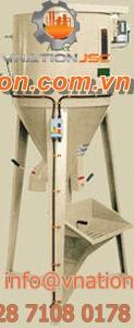 screw mixer / batch / vertical / single-shaft
