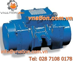 vibration motor with electric actuator / for concrete / high-frequency