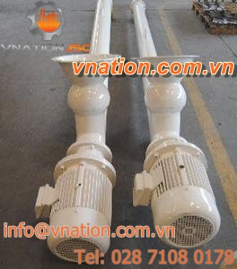 screw mixer / batch / for cement / high-performance