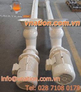 screw mixer / batch / for cement / high-performance