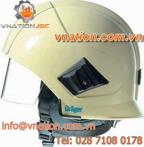 fire protection helmet / reflective