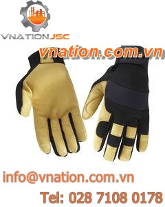 handling gloves / wear-resistant / neoprene