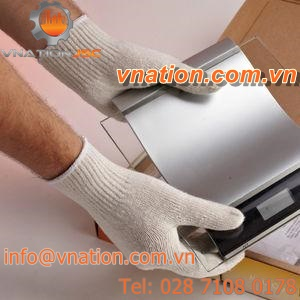 handling gloves / mechanical protection / polyester / cotton