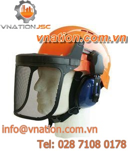 protection helmet / noise-reduction / forestry