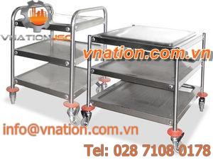 storage cart / handling / shelf / multipurpose