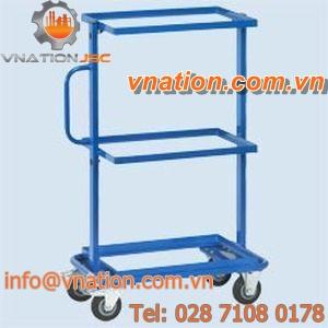 storage cart / shelf / multipurpose / stainless steel