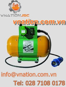 electric vibrator / for concrete / external / high-frequency