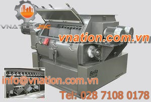 rotor-stator mixer / paddle / continuous / twin-shaft