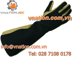 insulated gloves / handling / arc protection / leather