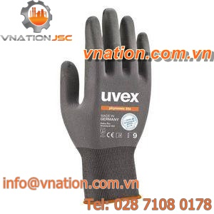 handling gloves / chemical protection / polymer / breathable