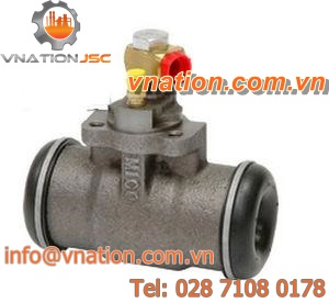 compact clamping cylinder / wheel