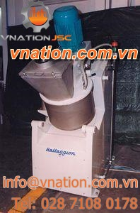 rotor-stator mixer / batch / with rotating bowl