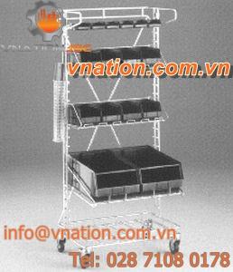storage cart / handling / shelf / container