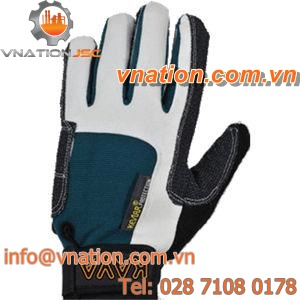 handling gloves / mechanical protection / leather