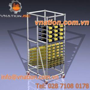 handling cart / storage / shelf / multipurpose