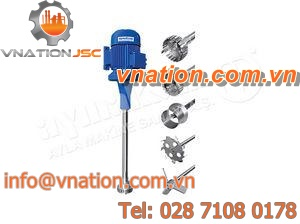 rotor-stator mixer / batch / industrial / high-speed
