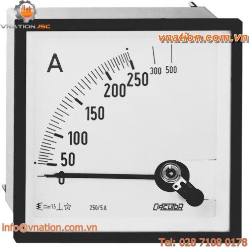 AC ammeter / analog / panel-mount