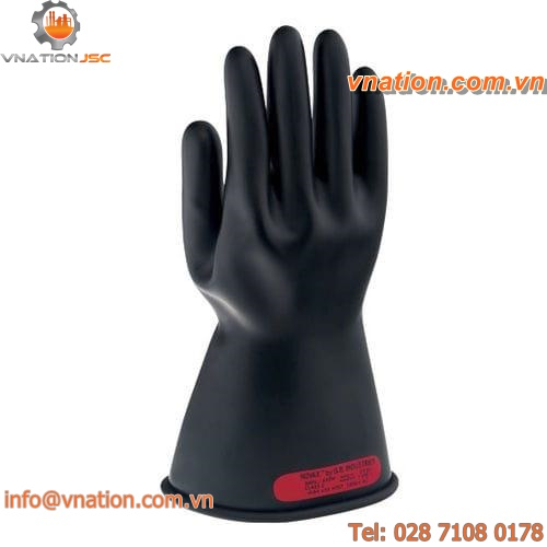 welding glove / arc protection / rubber