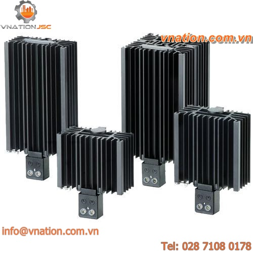 contact resistance heater / PTC / fanless / for electrical cabinets