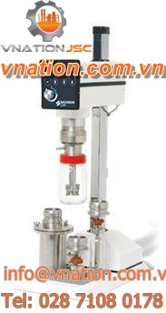 rotor-stator mixer / batch / laboratory / for sterile environments