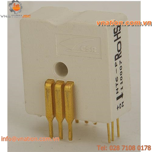 Hall effect current transducer / DC / AC / board-mount