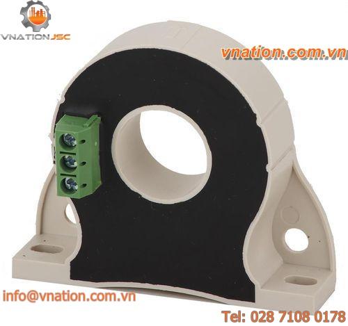 Hall effect current transducer / AC / DC / flange-mount