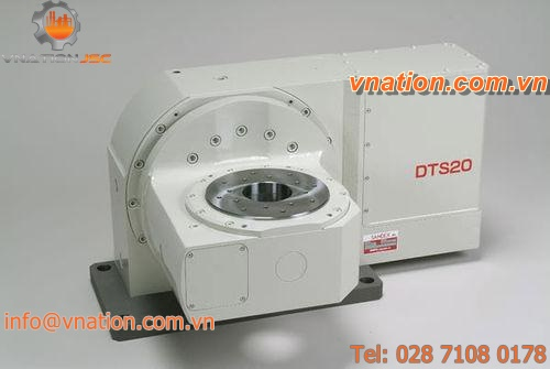 horizontal tilting rotary table / for machining centers / motorized