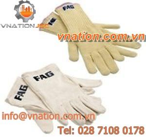 handling glove / heat-resistant / synthetic fiber