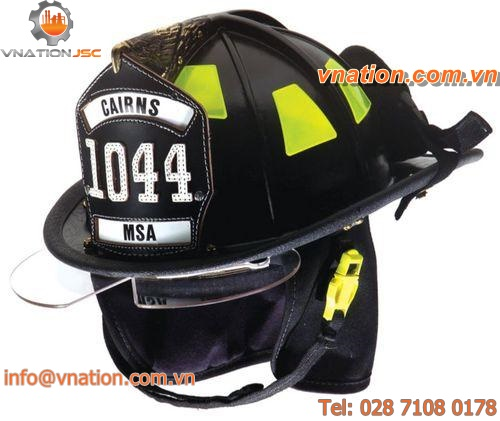 fire protection helmet / for heat protection