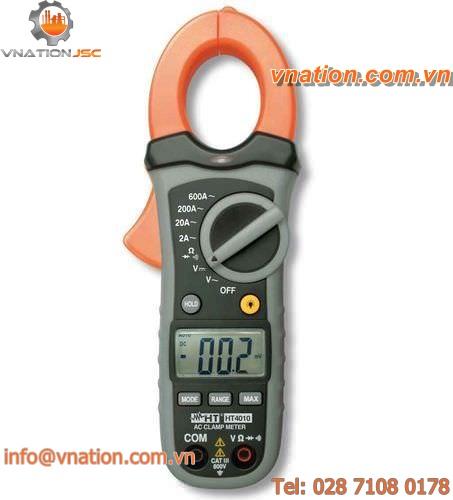 digital clamp ammeter / portable / AC / voltage